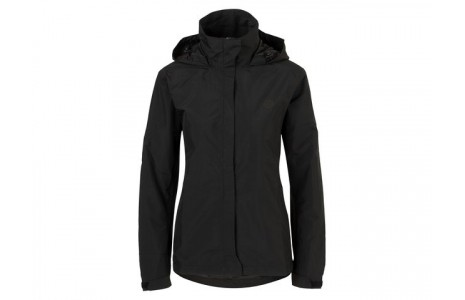 Regenjas Agu Section D, black, XXL